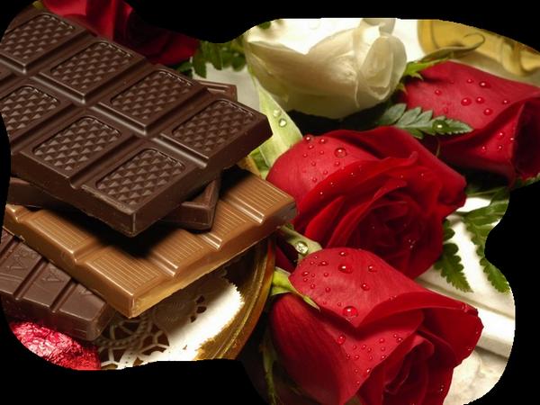 Tube de chocolat