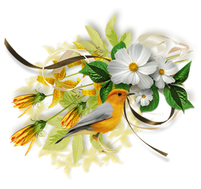 Barre de séparation fleurs pour vos créations