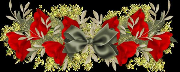 Barres de séparation fleurs