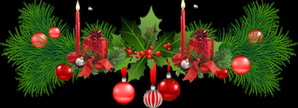 Barre de séparation de Noël