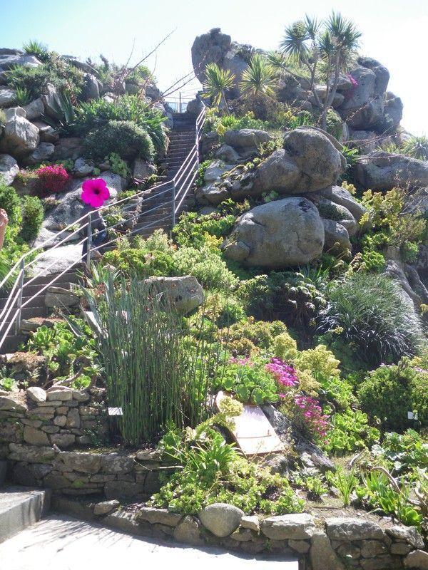 Jardin exotique de roscoff dans le finist re - Le jardin exotique de roscoff ...