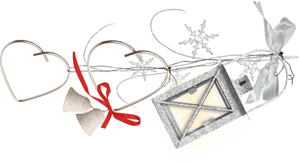 Tube décoration de Noël