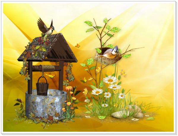 J'aime ces doux oiseaux ** Poésie **