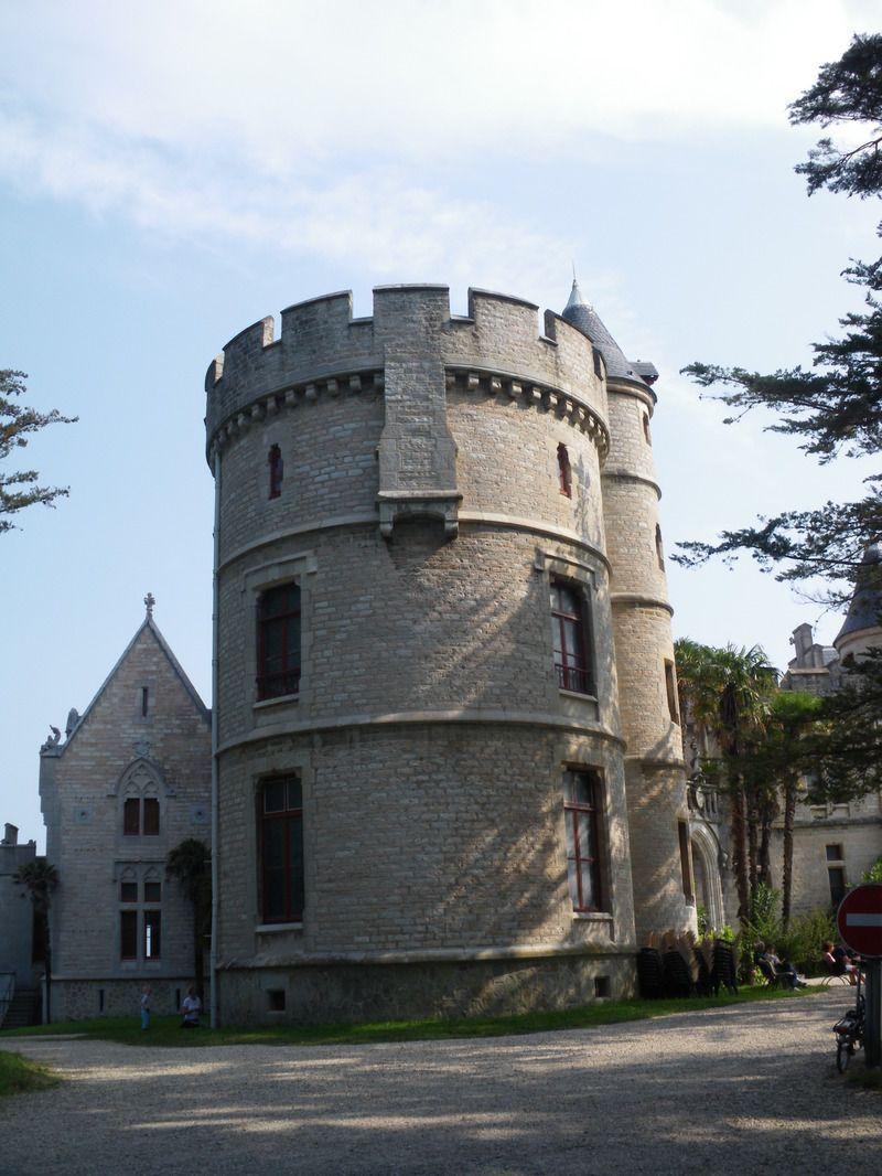 Château d'Abbadia Hendaye dans le Pays Basque IMGP0114