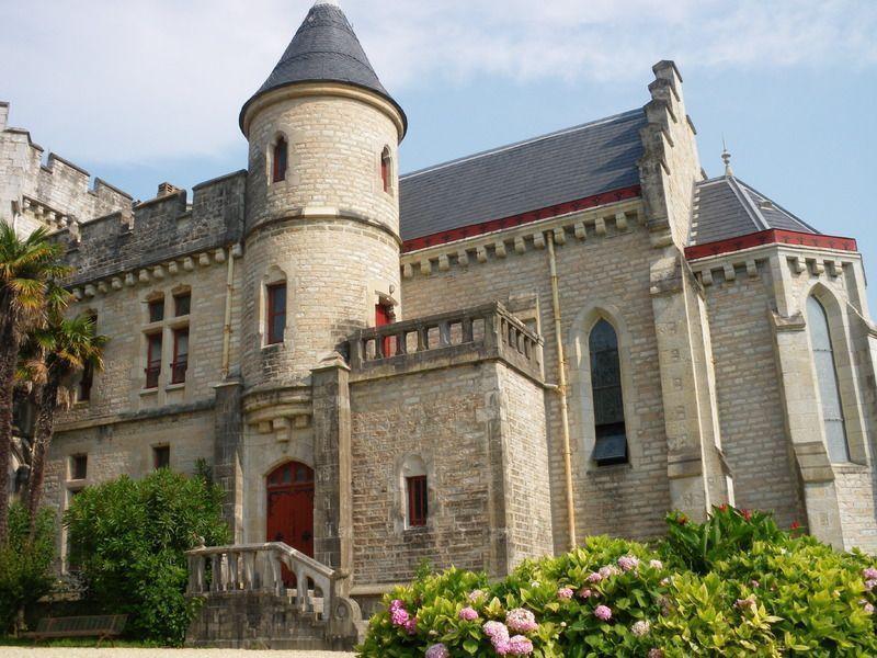 Château d'Abbadia Hendaye dans le Pays Basque IMGP0119