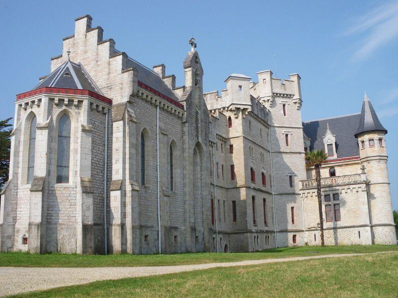 Château d'Abbadia Hendaye dans le Pays Basque IMGP0124