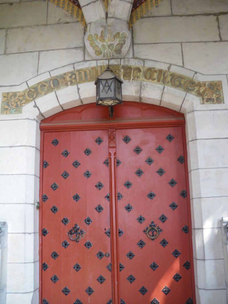 Château d'Abbadia Hendaye dans le Pays Basque IMGP0136