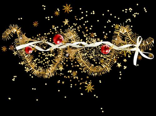 Barres de séparation de Noël pour vos créations