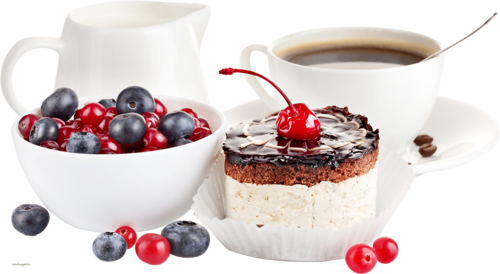Tubes petit déjeuner pause café