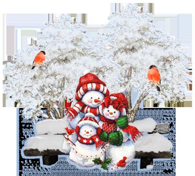 Tubes de décoration de Noël pour vos créations