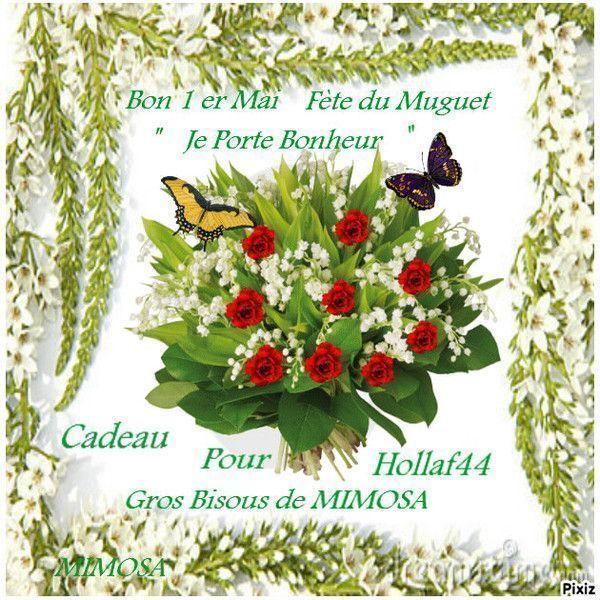 Joli brin de muguet chez mimosa - Poeme coccinelle porte bonheur ...