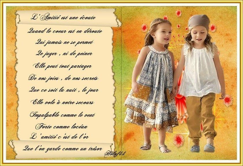L Amitie Est Comme Une Fleur Poeme De Max Alexis