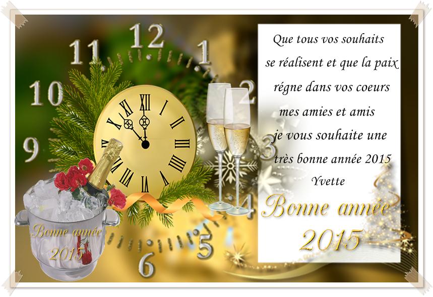Très Beaux Textes Pour Vos Voeux De Bonne Année 2015