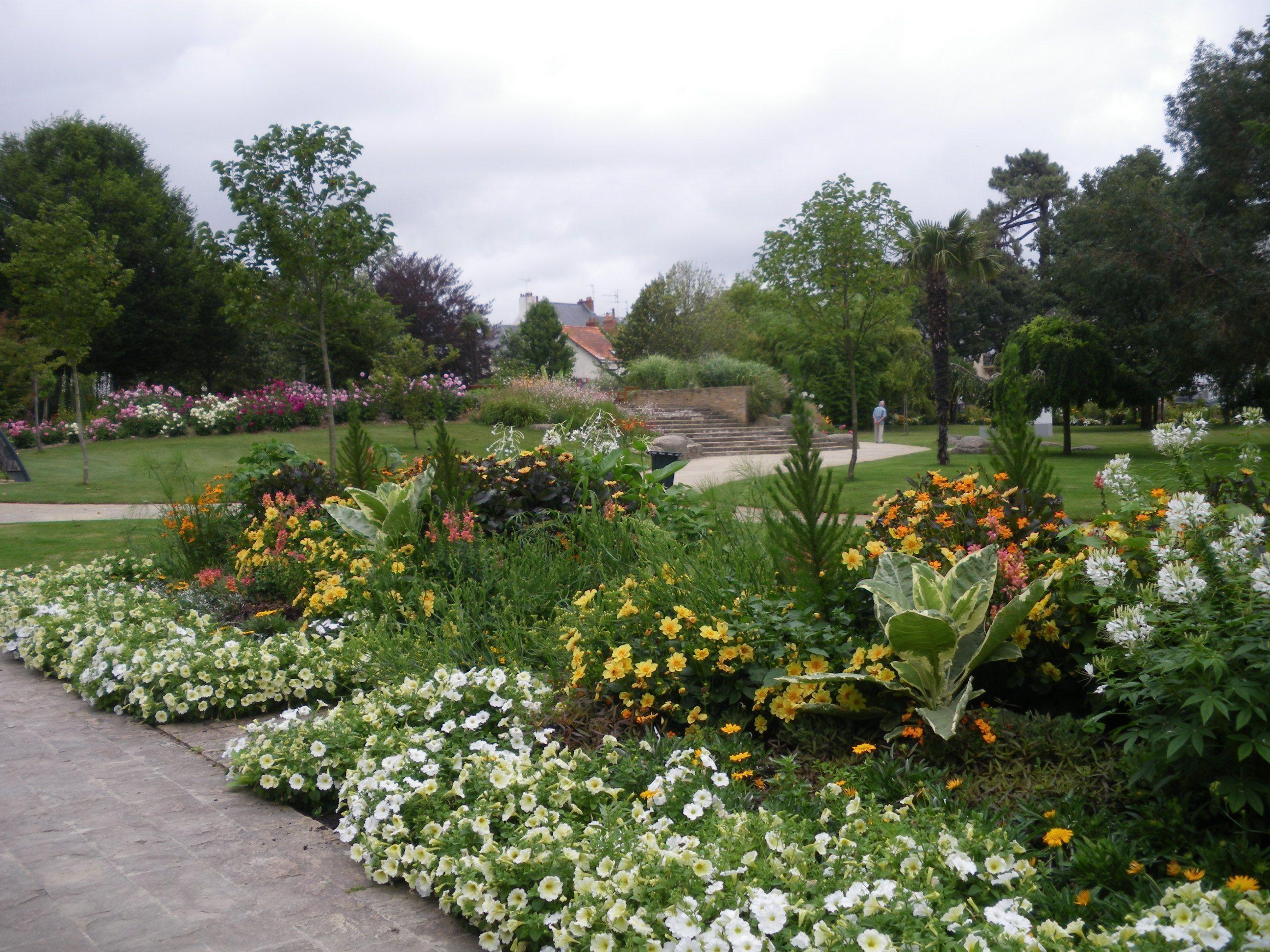 Jardin des Plantes à Saint Nazaire **Loire Atlantique**