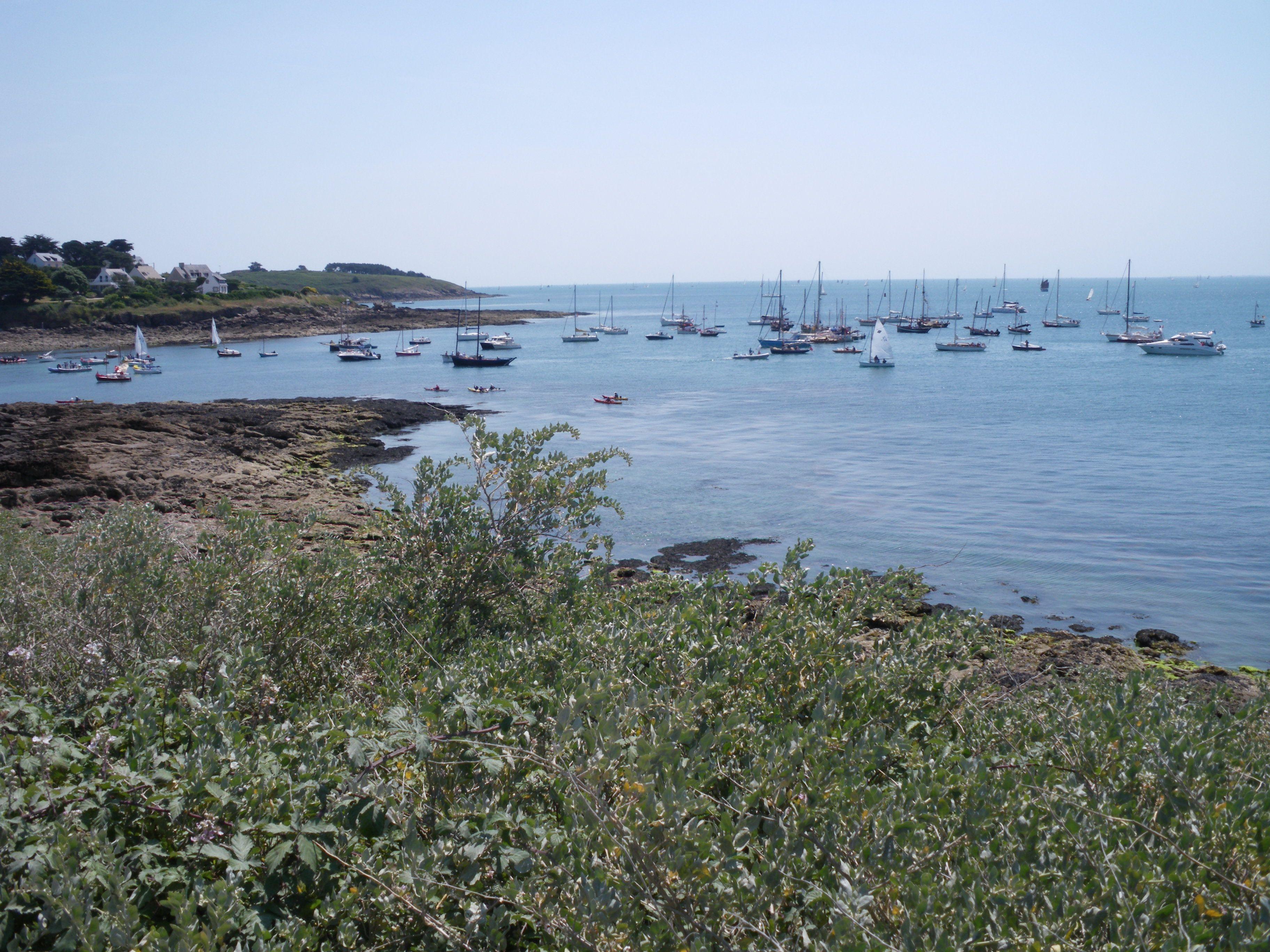 photo de port navalo dans le golfe du morbihan